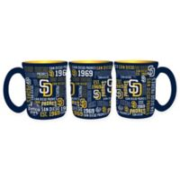MLB San Diego Padres 17 oz. Sculpted Spirit Mug