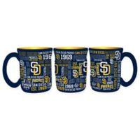 MLB San Diego Padres 17 oz. Sculpted Spirit Mug
