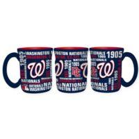 MLB Washington Nationals 17 oz. Sculpted Spirit Mug
