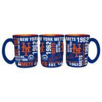 MLB New York Mets 17 oz. Sculpted Spirit Mug