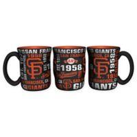 MLB San Francisco Giants 17 oz. Sculpted Spirit Mug