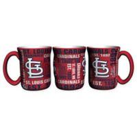 MLB St. Louis Cardinals 17 oz. Sculpted Spirit Mug