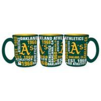 MLB Oakland Athletics 17 oz. Sculpted Spirit Mug