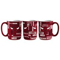 NBA Chicago Bulls 17 oz. Sculpted Spirit Mug