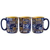 NHL St. Louis Blues 17 oz. Sculpted Spirit Mug