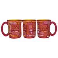 University of Southern California 17 oz. Sculpted Spirit Mug