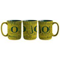 University of Oregon 17 oz. Sculpted Spirit Mug