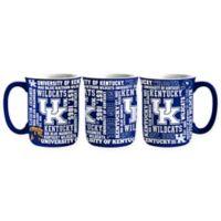 University of Kentucky 17 oz. Sculpted Spirit Mug