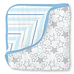 SwaddleDesigns® Starshine Muslin Luxe Blanket in Blue