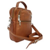 Piel® Leather Classic 10.5-Inch Audio Video/Camera Bag in Saddle