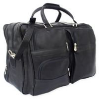 Piel® Leather Classic Complete Carry-All Bag in Black