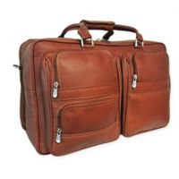 Piel® Leather Classic Complete Carry-All Bag in Saddle