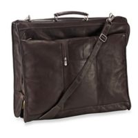 Piel® Leather 23-Inch Leather Elite Garment Bag in Chocolate