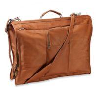 Piel® Leather 23-Inch Leather Elite Garment Bag in Saddle