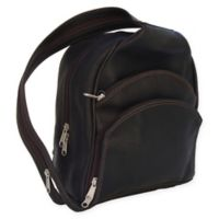 Piel® Leather 13.5-Inch Backpack Sling in Chocolate