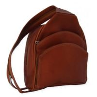 Piel® Leather 13.5-Inch Backpack Sling in Saddle