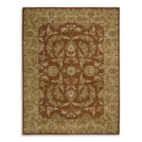 India House 3-Foot 6-Inch x 5-Foot 6-Inch Accent Rug in Rust