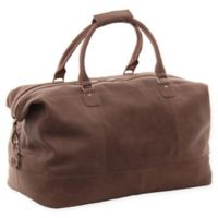 Piel® Leather 19-Inch Classic Satchel Carry On in Toffee