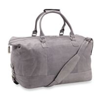 Piel® Leather 19-Inch Classic Satchel Carry On in Charcoal