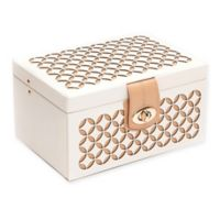 Wolf Designs® Chloe Small Jewelry Box in Cream