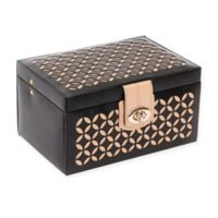 Wolf Designs® Chloe Small Jewelry Box in Black