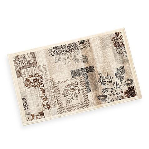 verona matrix rug in silver bed bath beyond. Black Bedroom Furniture Sets. Home Design Ideas