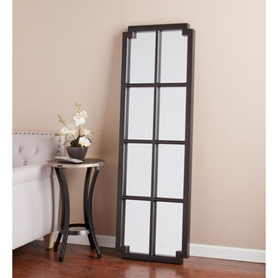 Wall Leaning Mirrors buy leaning wall mirror from bed bath & beyond
