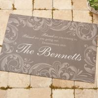 Family Blessings 18-Inch x 27-Inch Door Mat
