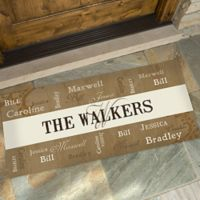 Our Loving Family 24-Inch x 48-Inch Door Mat