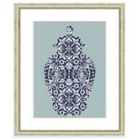 19-Inch x 23-Inch Pattern Vase Print II Wall Art
