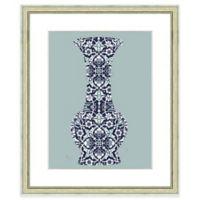 19-Inch x 23-Inch Pattern Vase Print III Wall Art