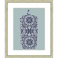 19-Inch x 23-Inch Pattern Vase Print IV Wall Art
