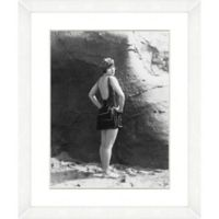 Bathing Beauties Print X 22-Inch x 18-Inch Framed Wall Art