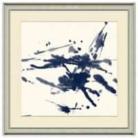 Watercolor Splatter II 23-Inch x 23-Inch Framed Wall Art
