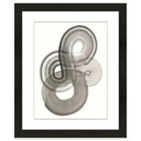 Black Abstract II 18-Inch x 22-Inch Framed Wall Art