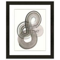 Black Abstract II 18-Inch x 22-Inch Framed Wall Art