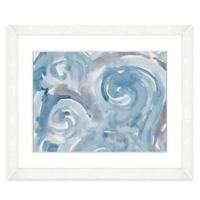 22-Inch x 18-Inch Light Blue Abstract I Wall Art