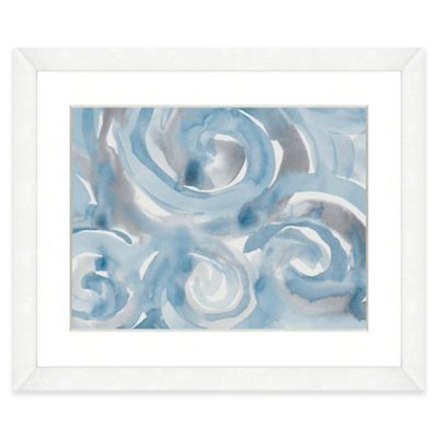 Buy Blue Abstract Wall Art from Bed Bath & Beyond