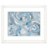 22-Inch x 18-Inch Light Blue Abstract II Wall Art