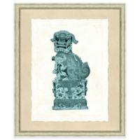 19-Inch x 23-Inch Foo Dog Print I Wall Art