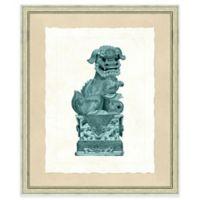 19-Inch x 23-Inch Foo Dog Print II Wall Art
