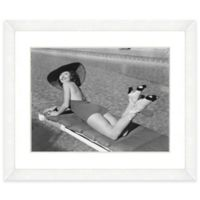18-Inch x 22-Inch Hat Beauties Print III Wall Art