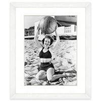 Beachball Beauty I 18-Inch x 22-Inch Framed Wall Art