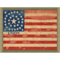 34 Star American Flag 34-Inch x 28-Inch Wall Art