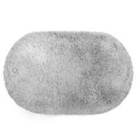 Juliet 21-Inch x 34-Inch Shag Bath Rug in Grey