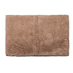 Therapedic™ 21-Inch x 34-Inch Memory Foam Bath Rug in Latte