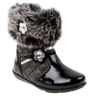 Josmo Shoes Size 8 Fur Boot in Black