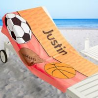 Just for Him Beach Towel