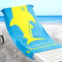 Shark Life Beach Towel
