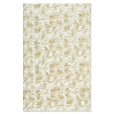 capel rugs cozy 5foot x 8foot shag area rug in white quick view